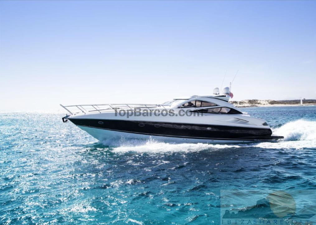 Alquiler barco a motor sunseeker predator 68 en ibiza for Barcos sunseeker nuevos