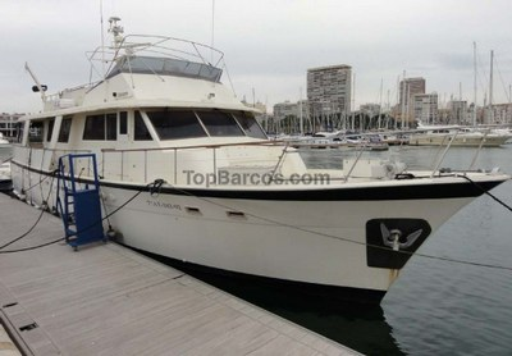 Hatteras Yachts 70 COCKPIT