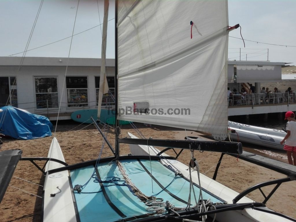 hobie cat VENDIDO! 18 Classic in Barcelona Used boats - Top
