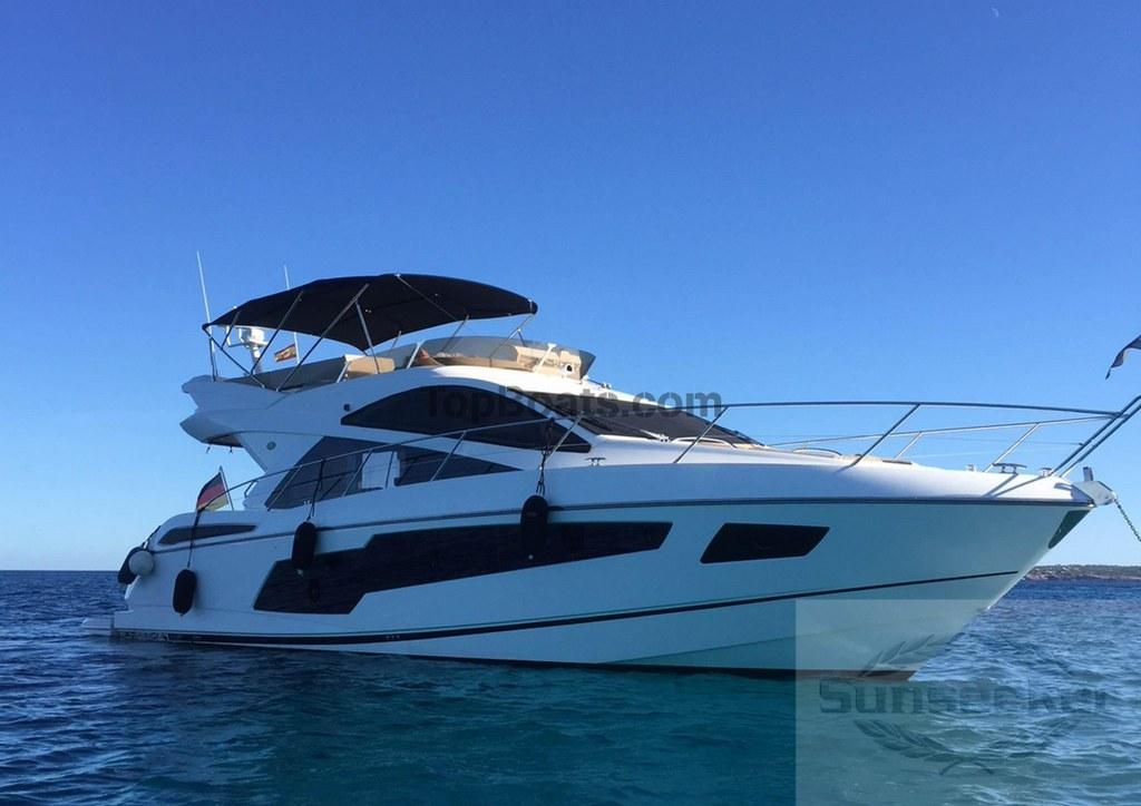 Sunseeker manhattan 55 en barcelona por barcos de for Barcos sunseeker nuevos