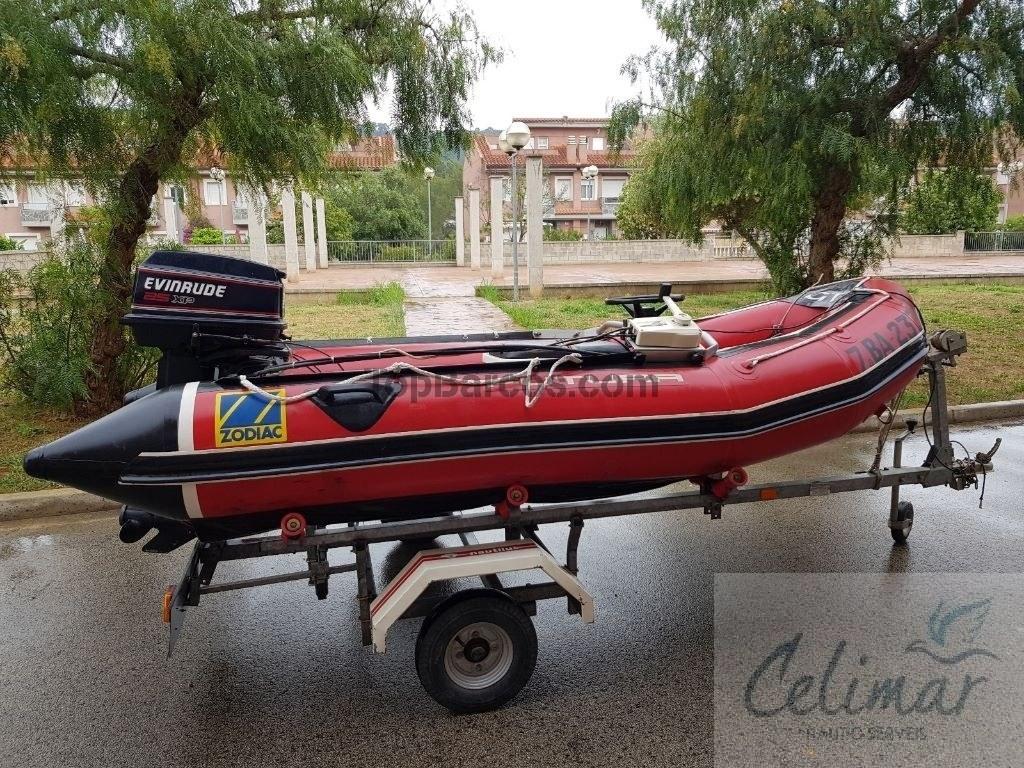 Zodiac Futura 360 في برشلونة إلى 2 800€ قوارب مستعملة - Top Boats