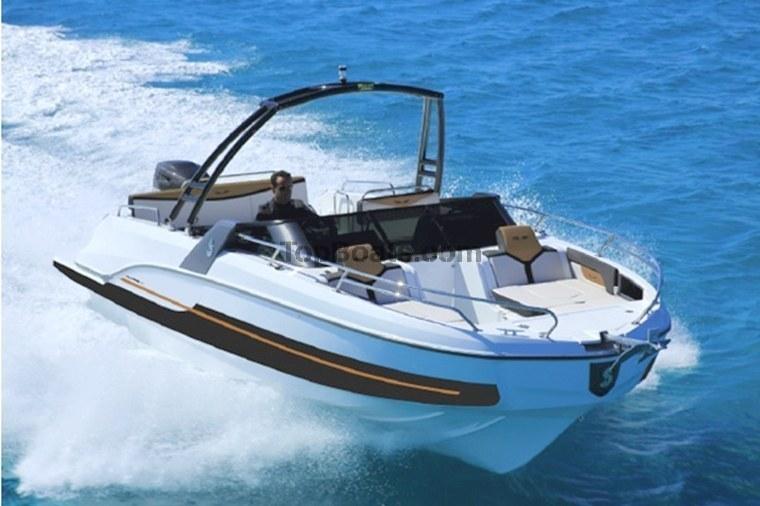 b n teau flyer 6 6 sport deck bateaux neufs corse du sud top boats. Black Bedroom Furniture Sets. Home Design Ideas