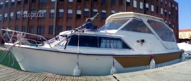 730 pilotina norvegese cabinata a venezia per 9.000€ barche usate