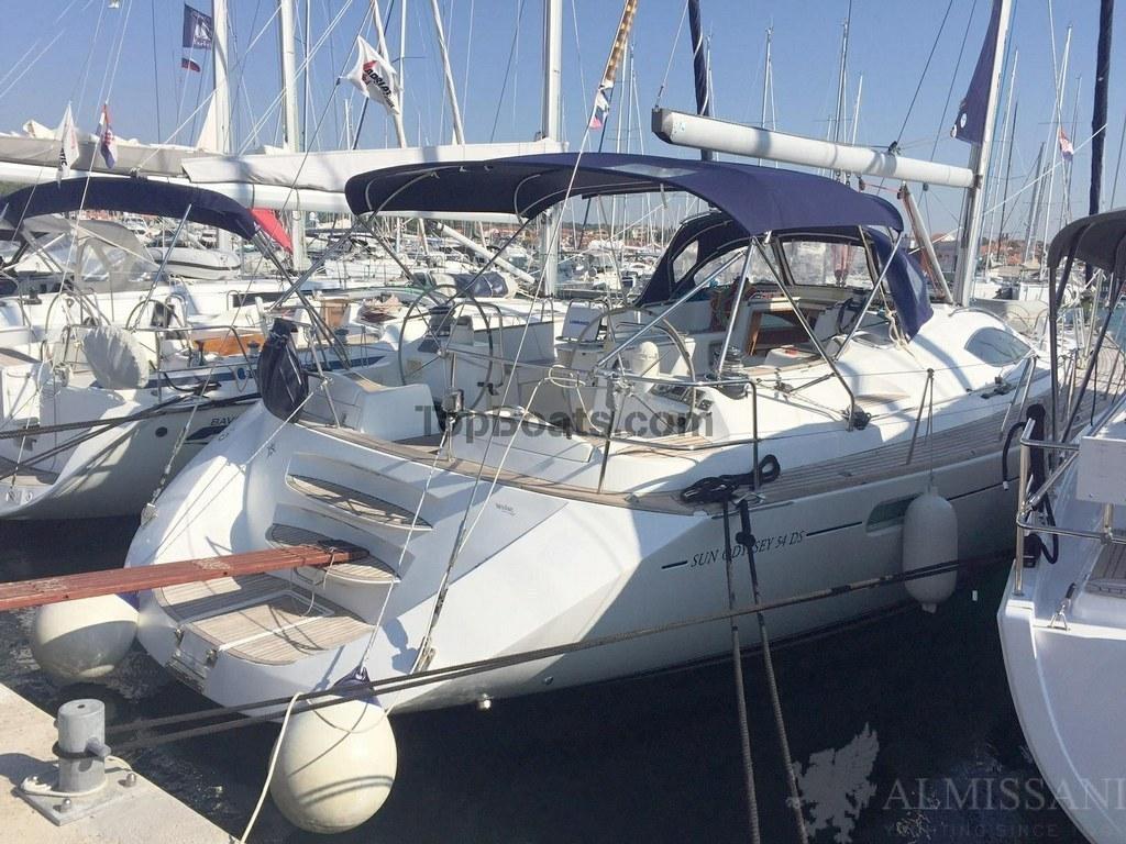 Jeanneau Sun Odyssey 54 Ds In Croatia Boats By 116 275 Used Boats