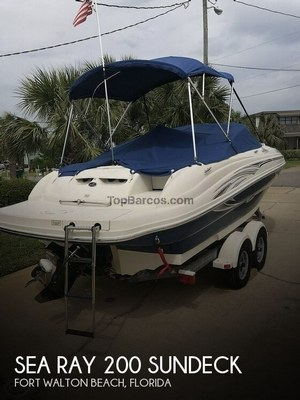 Sea Ray 200 Sundeck in used boats - Top Boats