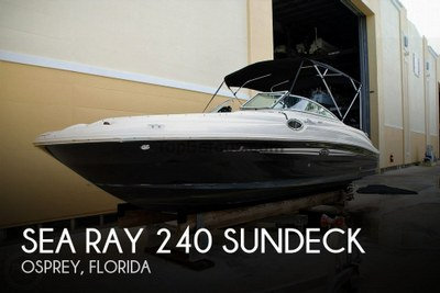 Sea Ray 240 Sundeck in used boats - Top Barcos