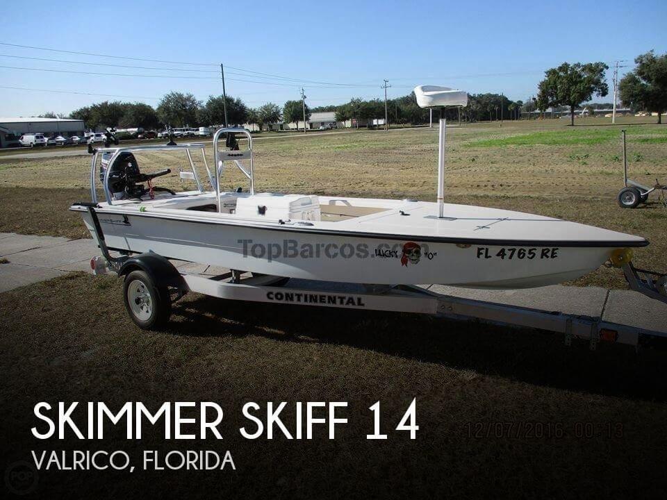 Skimmer Skiff 14 in Hillsborough (Florida) Used boats - Top