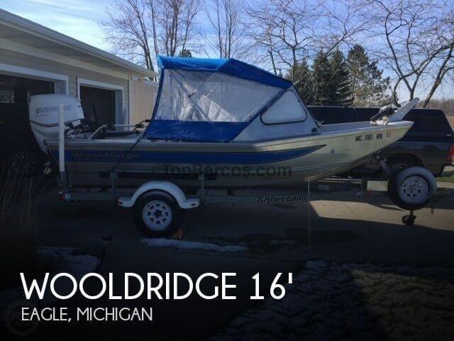 Wooldridge Alaskan 16 in Clinton (Michigan) Used boats - Top