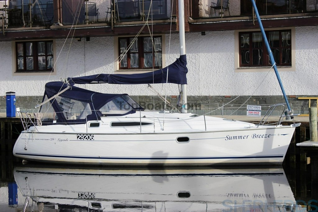Jeanneau Sun Odyssey 29 2 In South Lakeland Used Boats Top Boats